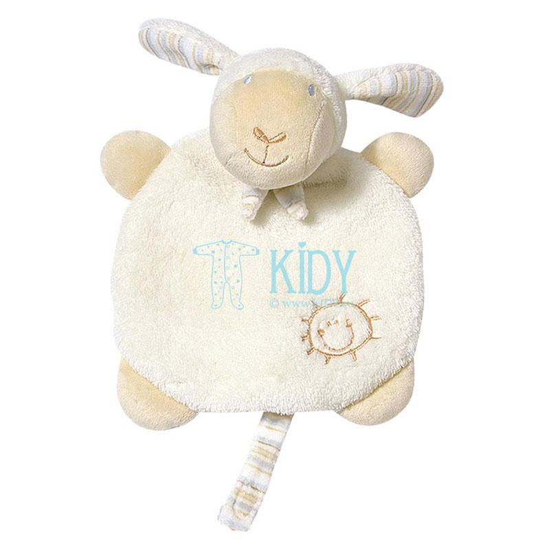 Cuddlefriend with pacifier holder Sheep