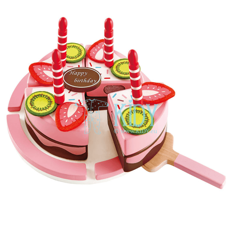 Playset Double Flavored Birthday Cake (Hape)