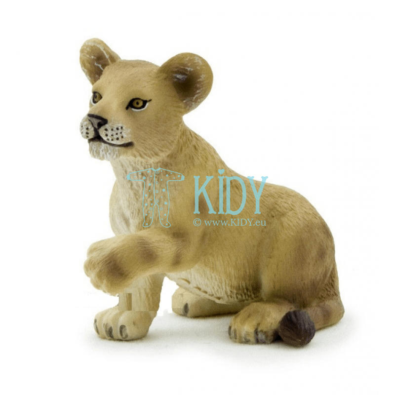 Figure Lion cub Playing