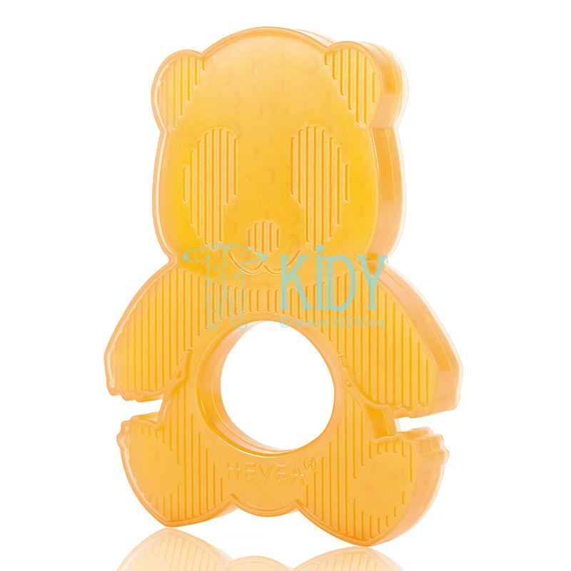 Natural rubber PANDA teether