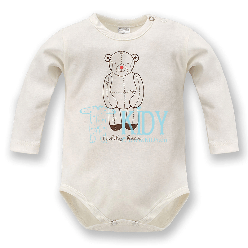 Ecru TEDDY BEAR bodysuit