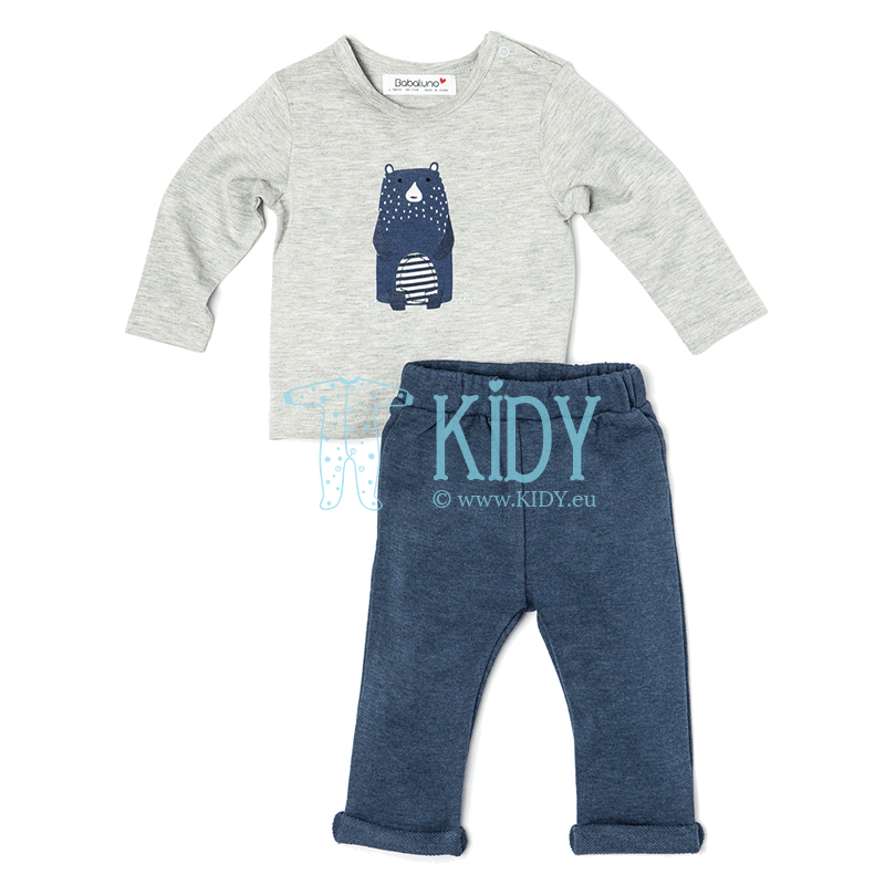 Navy IGLOO set: top + jogpants