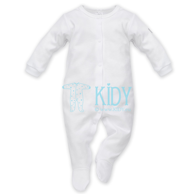WHITE sleepsuit
