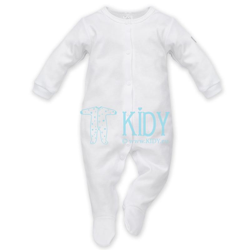 Baltas kombinezonas-pižama WHITE