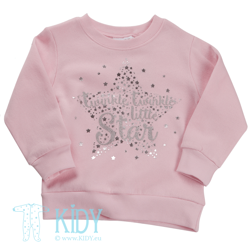 Pink STAR jumper