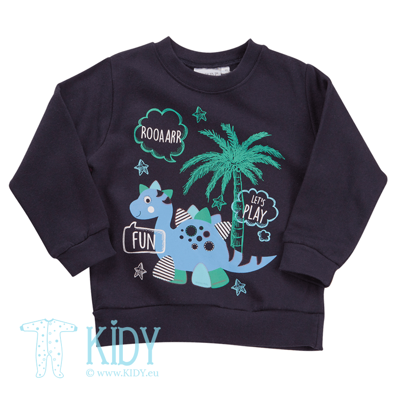 Navy DINO jumper
