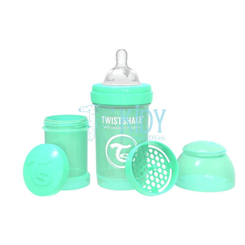 MINT GREEN ANTI-COLIC feeding bottle