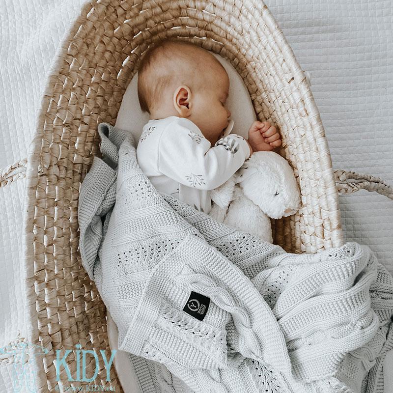 Baltas kombinezonas-pižama GREY LEAVES (YOSOY) 5