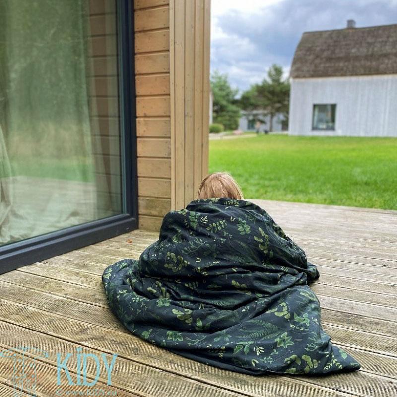 Patalynės komplektas Herbarium: antklodė + pagalvė (MAKASZKA) 5