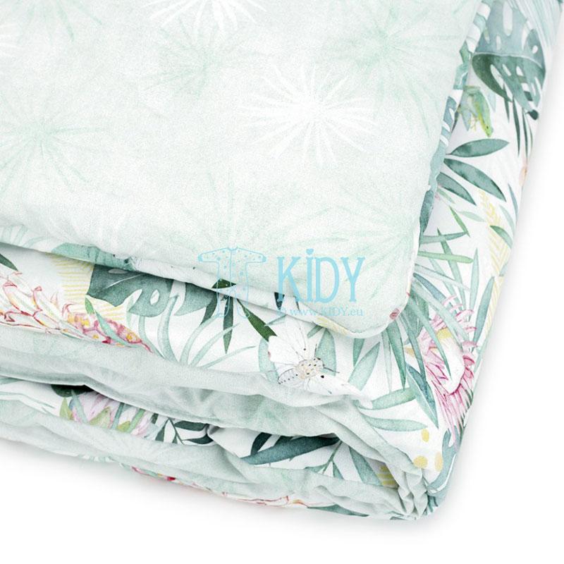 Patalynės komplektas Aloha: antklodė + pagalvė (MAKASZKA) 5