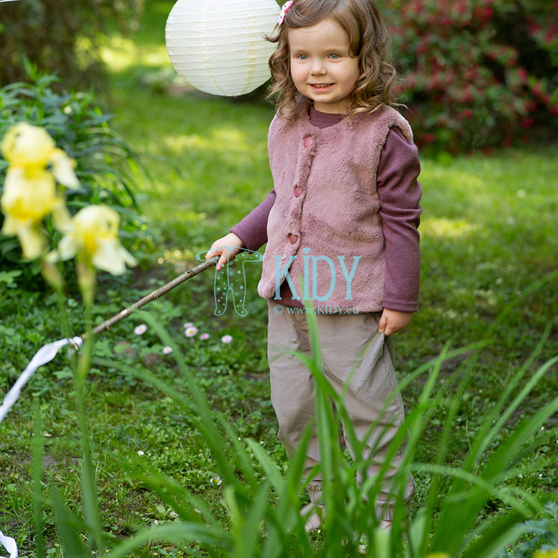 Bordo spalvos megzti marškinėliai JULIA (Pinokio) 5