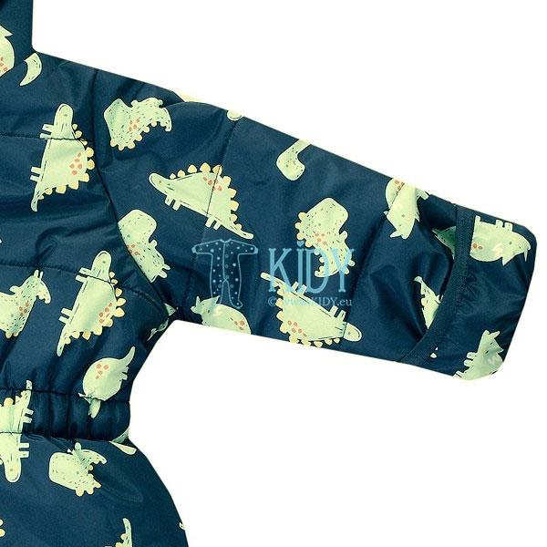Mėlynas pašiltintas kombinezonas OUTDOOR su dinozaurais (Jacky) 5