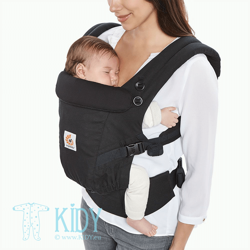 Рюкзак ADAPT Black (ErgoBaby) 5