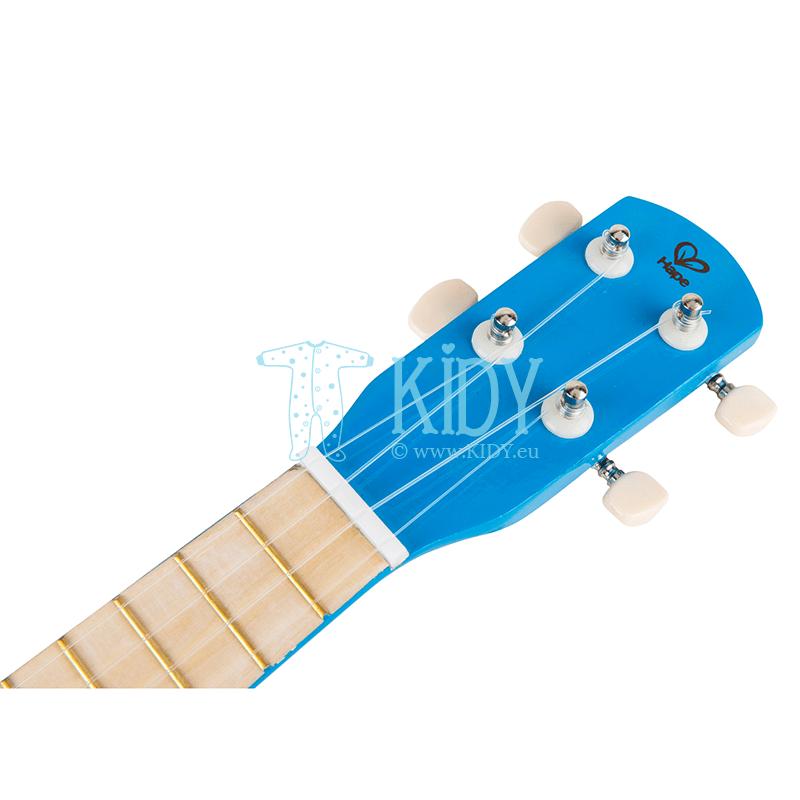 Mėlyna gitara (Hape) 5
