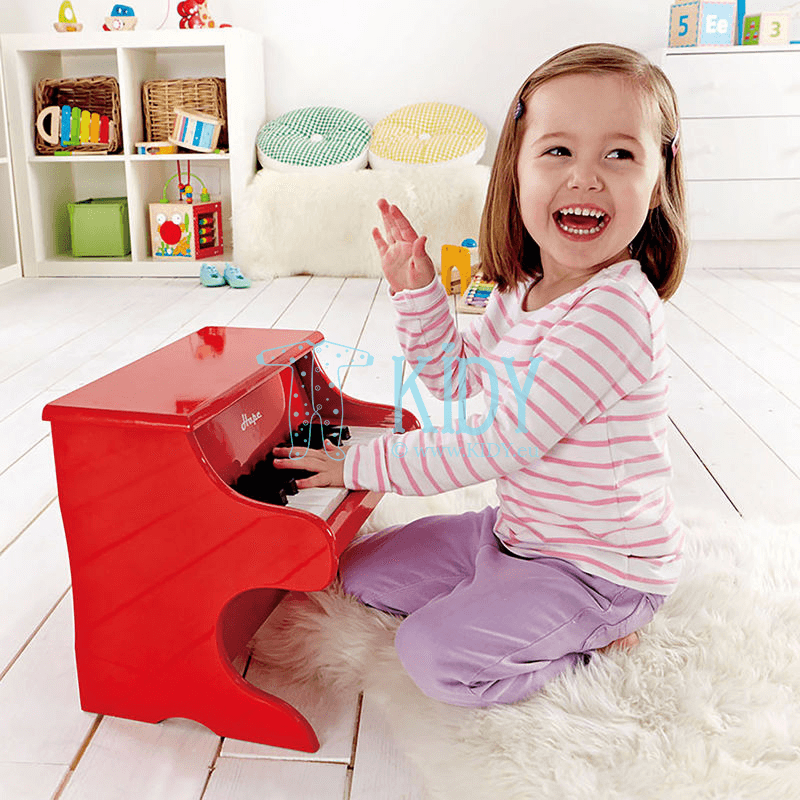 Red PLAYFUL PIANO (Hape) 5