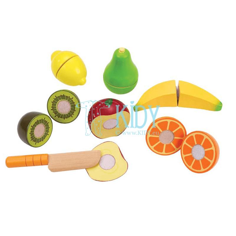Žaislinis rinkinys Švieži vaisiai FRESH FRUIT (Hape) 5