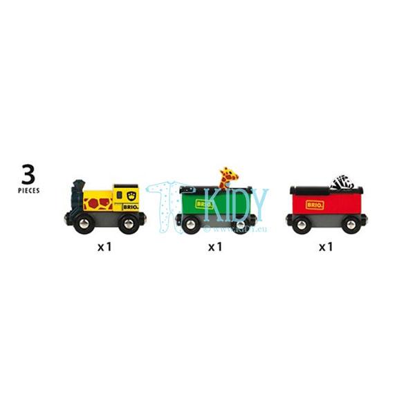 Поезд Сафари (Brio) 5