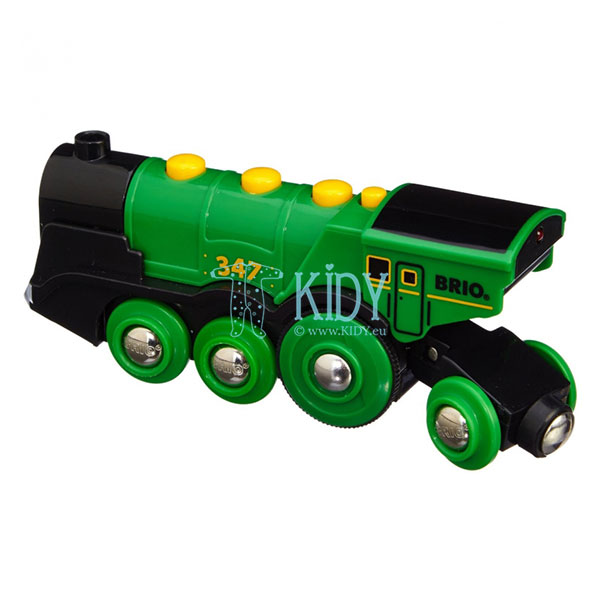 Big Green Action Locomotive (Brio) 5