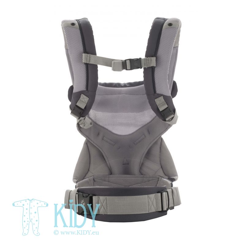 Nešioklė ALL POSITION 360 Cool Air Carbon grey (ErgoBaby) 5
