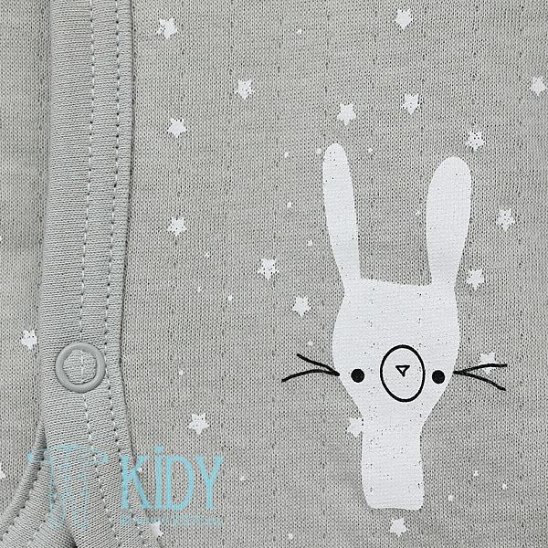 Grey FLUFFY hoodie (Lorita) 5