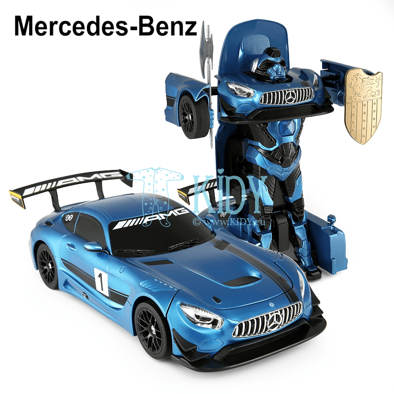 Radio controlled transformable car (RC 1:14 Mercedes-Benz GT3) (RASTAR) 5