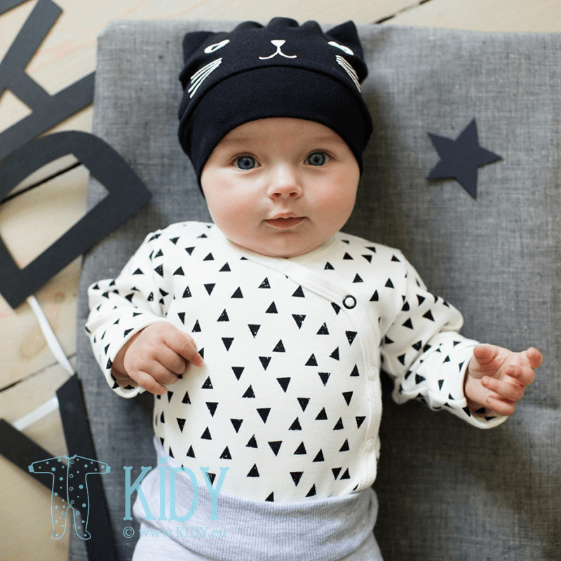 Черная шапочка HAPPY DAY (Pinokio) 5