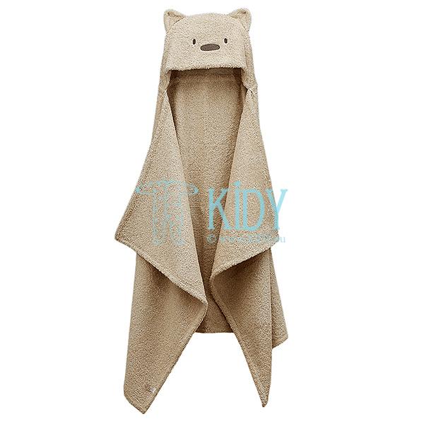 Коричневое полотенце с уголком MESKUTIS (Lorita) 5