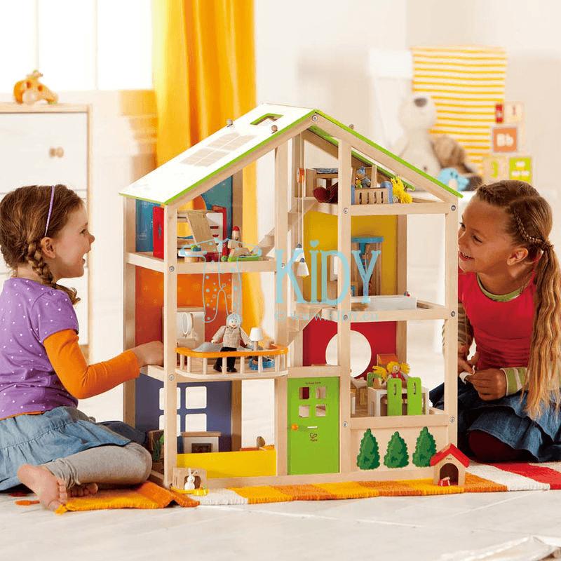 Деревянный игрушечный домик для кукол (Hape) 5