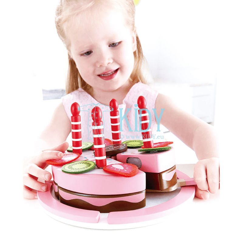 Playset Double Flavored Birthday Cake (Hape) 5