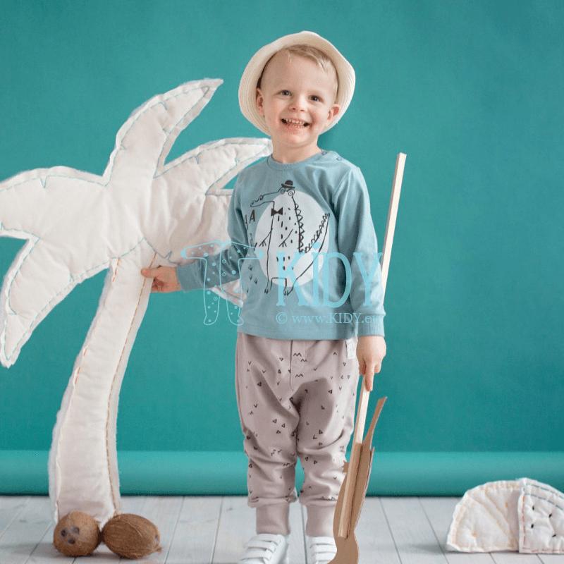 Бежевые штанишки LEON (Pinokio) 5
