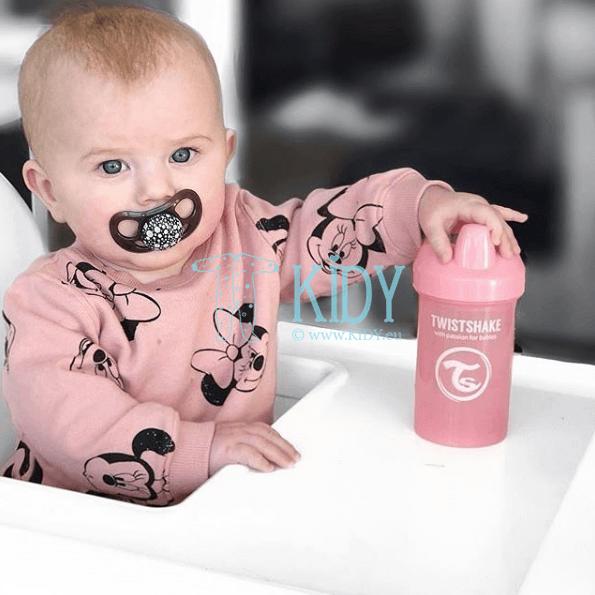 Rožinė gertuvė SIPPY CUPS CRAWLER LIGHT PINK (Twistshake) 5