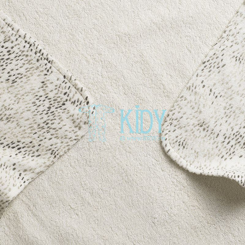 Hooded DOTS OF FAUNA towel (Elodie Details) 5