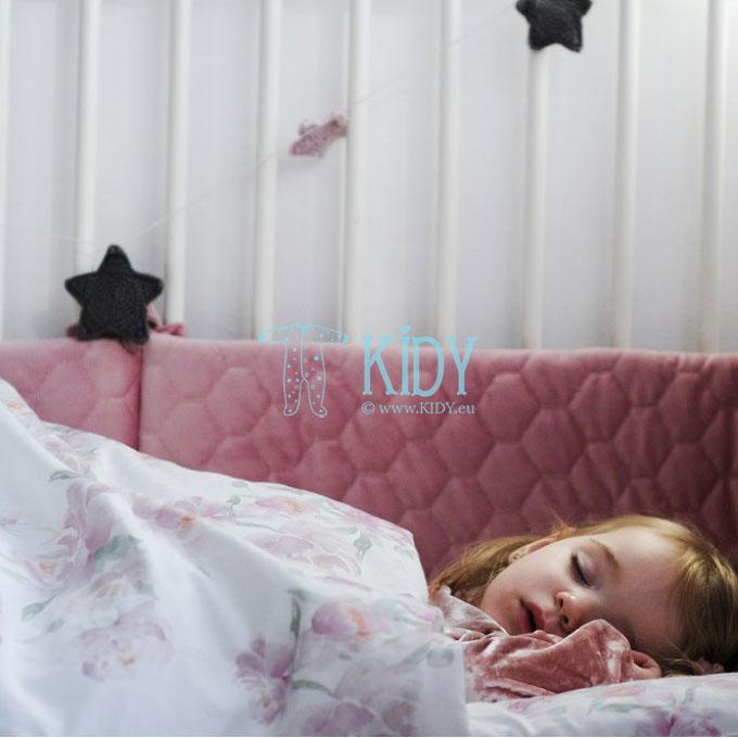 Patalynės komplektas Peonie: antklodė + pagalvė (MAKASZKA) 5