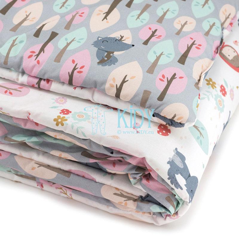 Patalynės komplektas Czerwony Kapturek: antklodė + pagalvė (MAKASZKA) 5