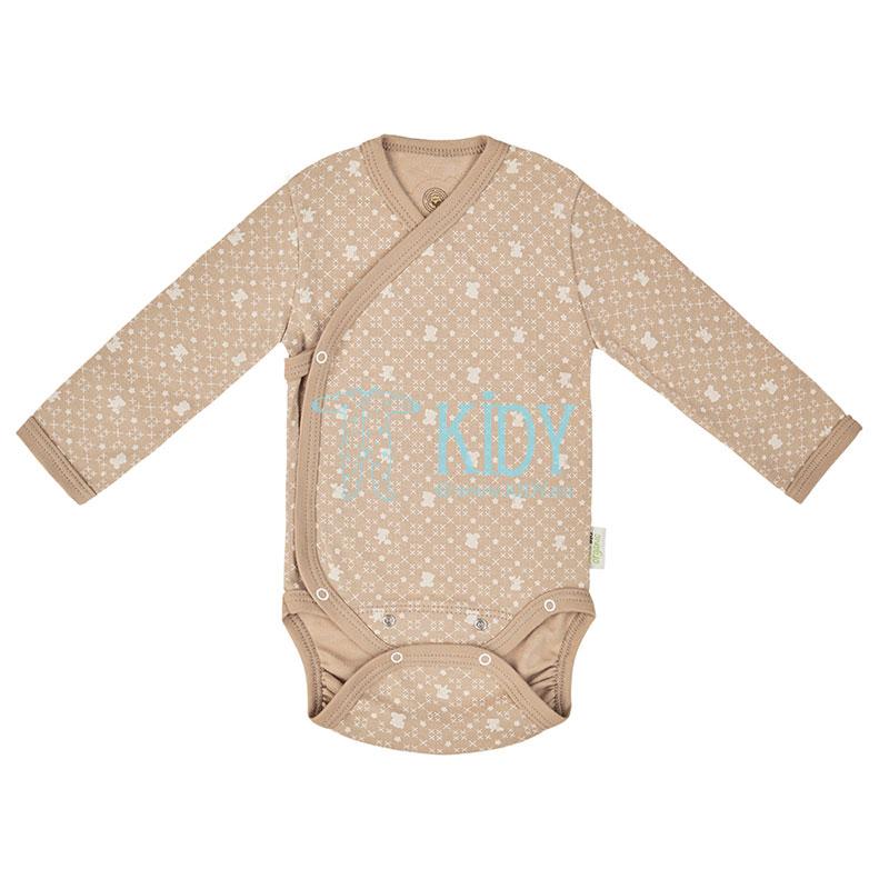 9 pcs brown ORGANIC unisex baby layette set for newborns (BIO Baby) 5