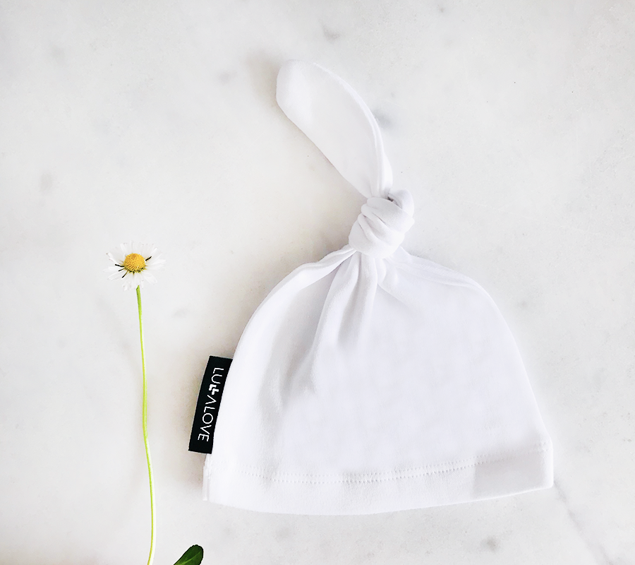 Balta kepurė PAPROCIE (Lullalove) 5