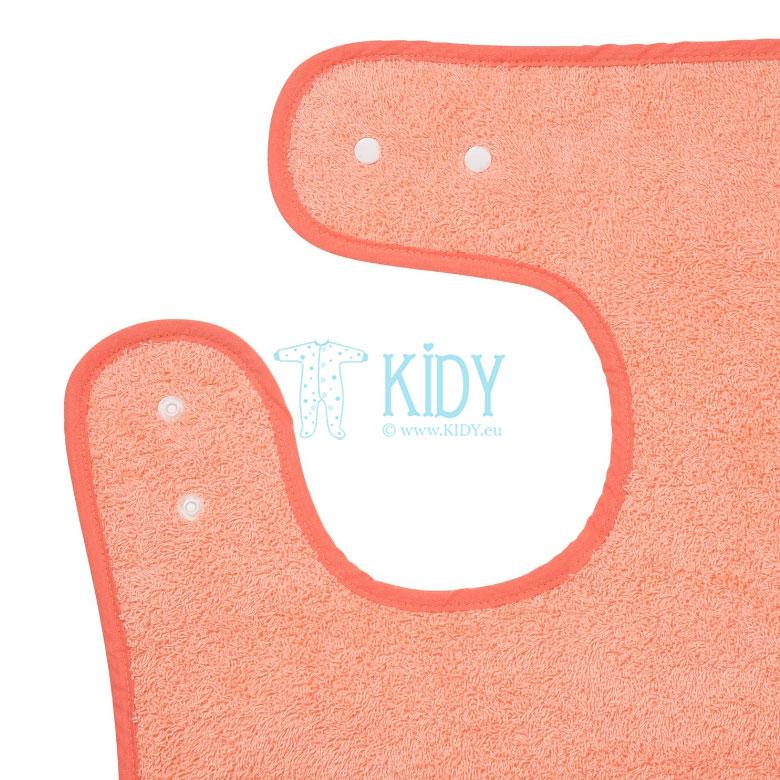 Rožinis rankšluostis su gobtuvu SPLASH & WRAP (ClevaMama) 5