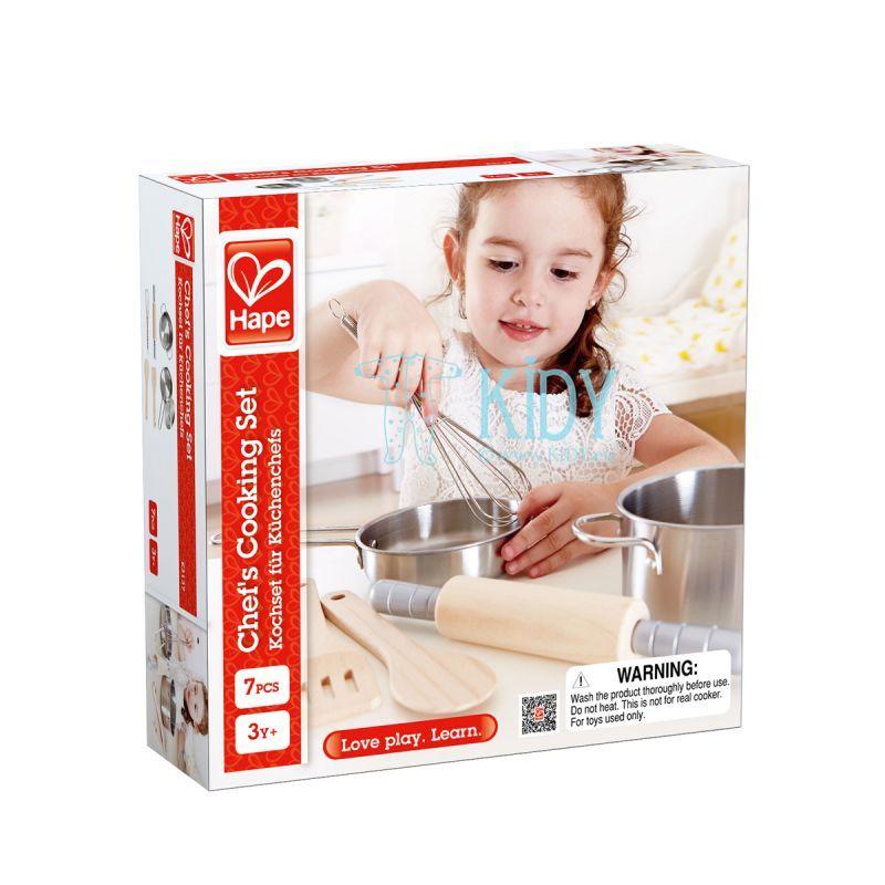 Virtuvės įrankių rinkinys 7 vnt (Hape) 5