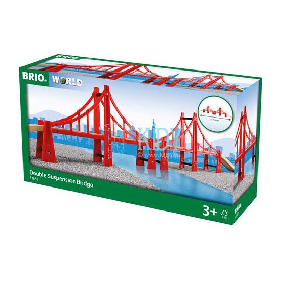 Dvigubai sukabintas tiltas (Brio) 5