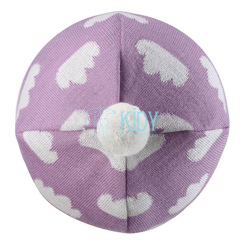 Alyvinės spalvos vilnonė kepurė NEEMI (Lassie by Reima) 5