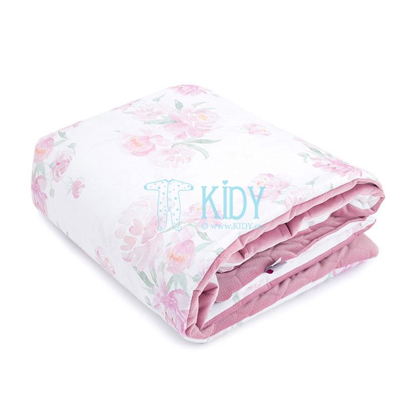 Rožinė antklodė Peonie (MAKASZKA) 5