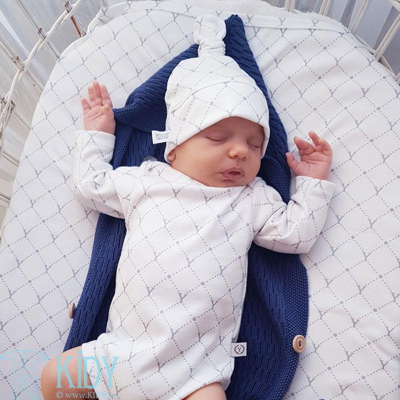 Balta kepurė STARS (YOSOY) 5