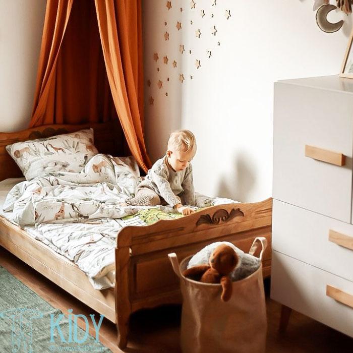 Patalynės komplektas Sawanna: antklodė + pagalvė (MAKASZKA) 5