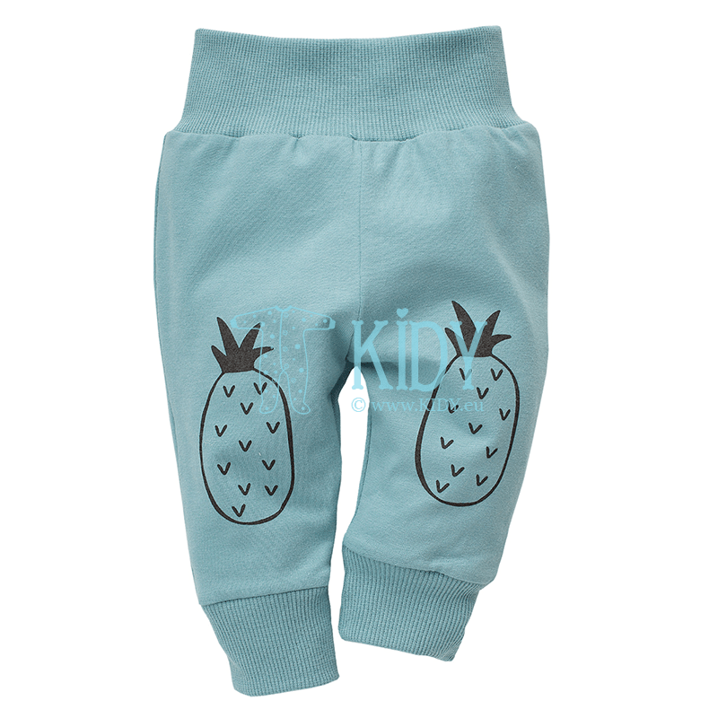 Turquoise LEON pants