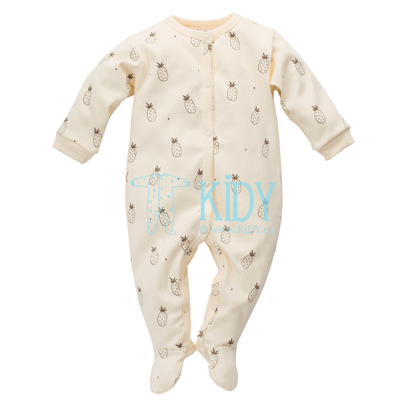 Yellow LEON sleepsuit