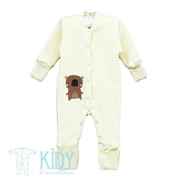 Creamy BARNI sleepsuit