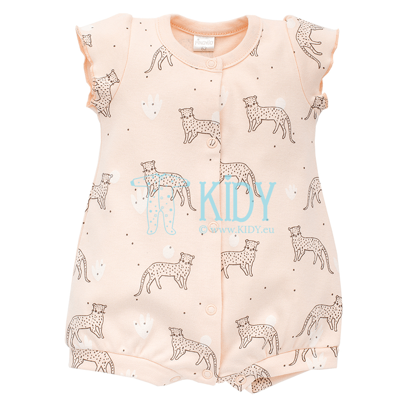 Pink SWEET PANTHER romper