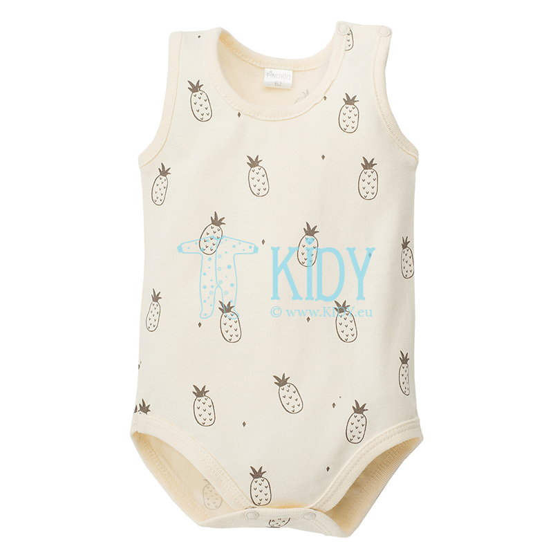 Creamy LEON sleeveless bodysuit