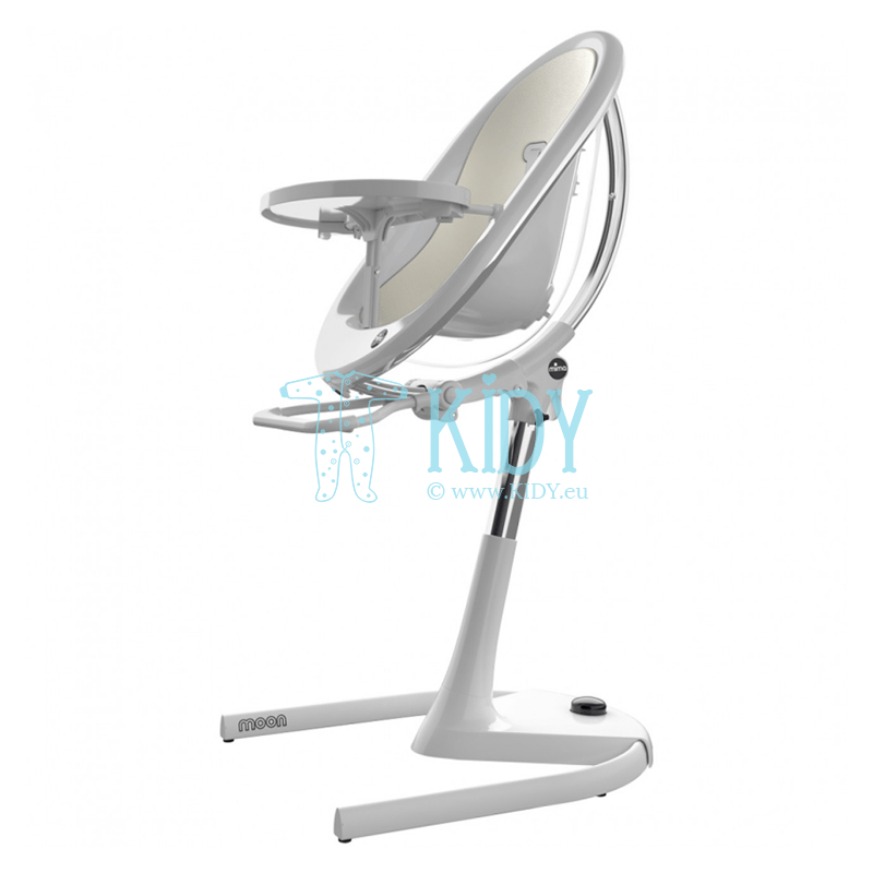 Highchair Moon 2G White