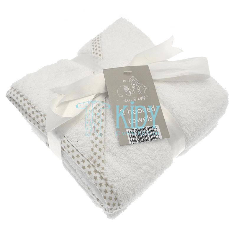 Elli & Raff set: 2 hooded towels (Elli & Raff)